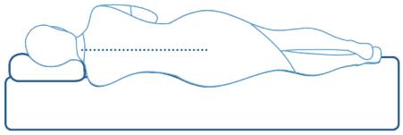 راهنمای فرم صحیح بدن در هنگام خواب برروی تشک مناسب